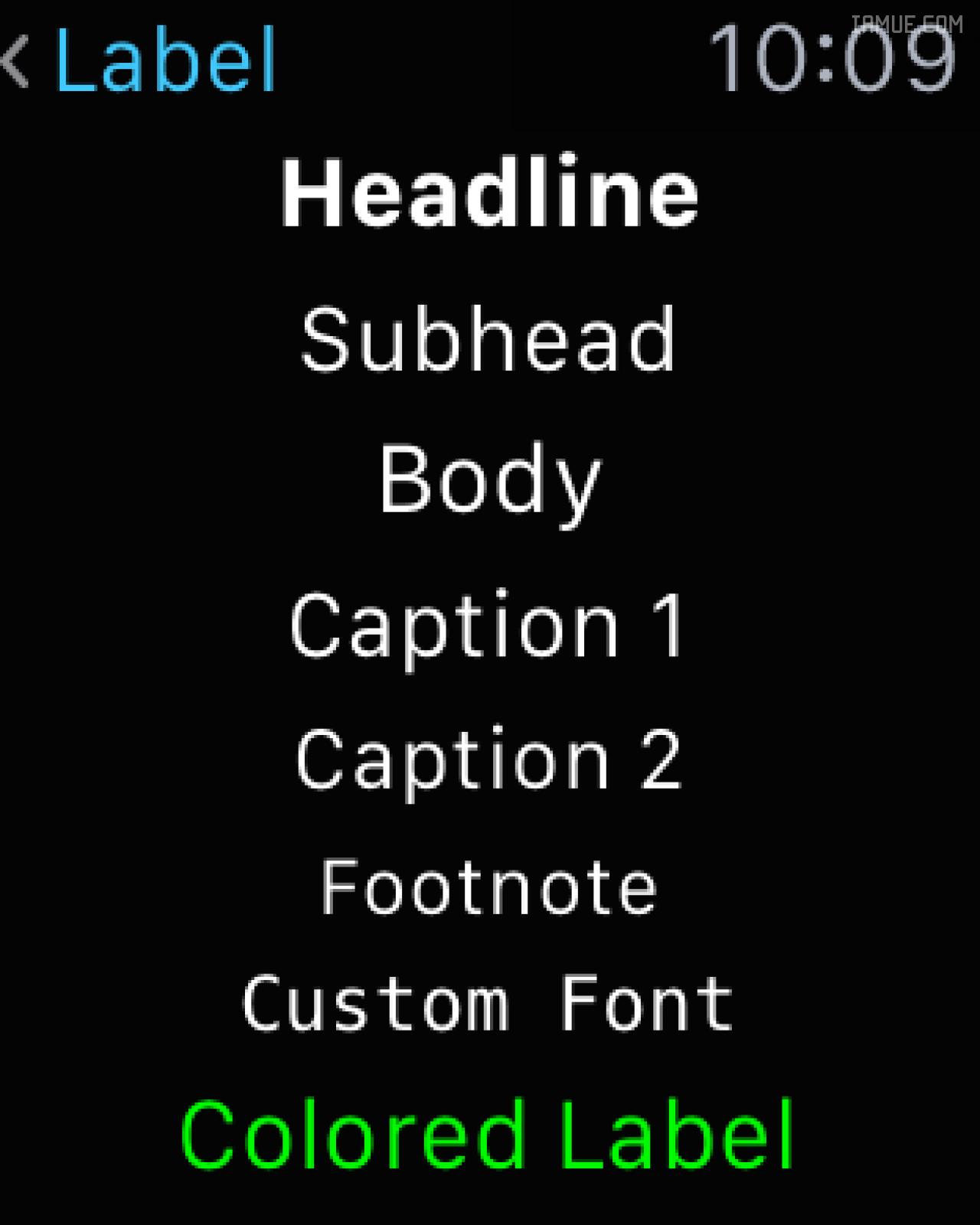 Apple Watch界面设计规范之UI设计基础(2/2)