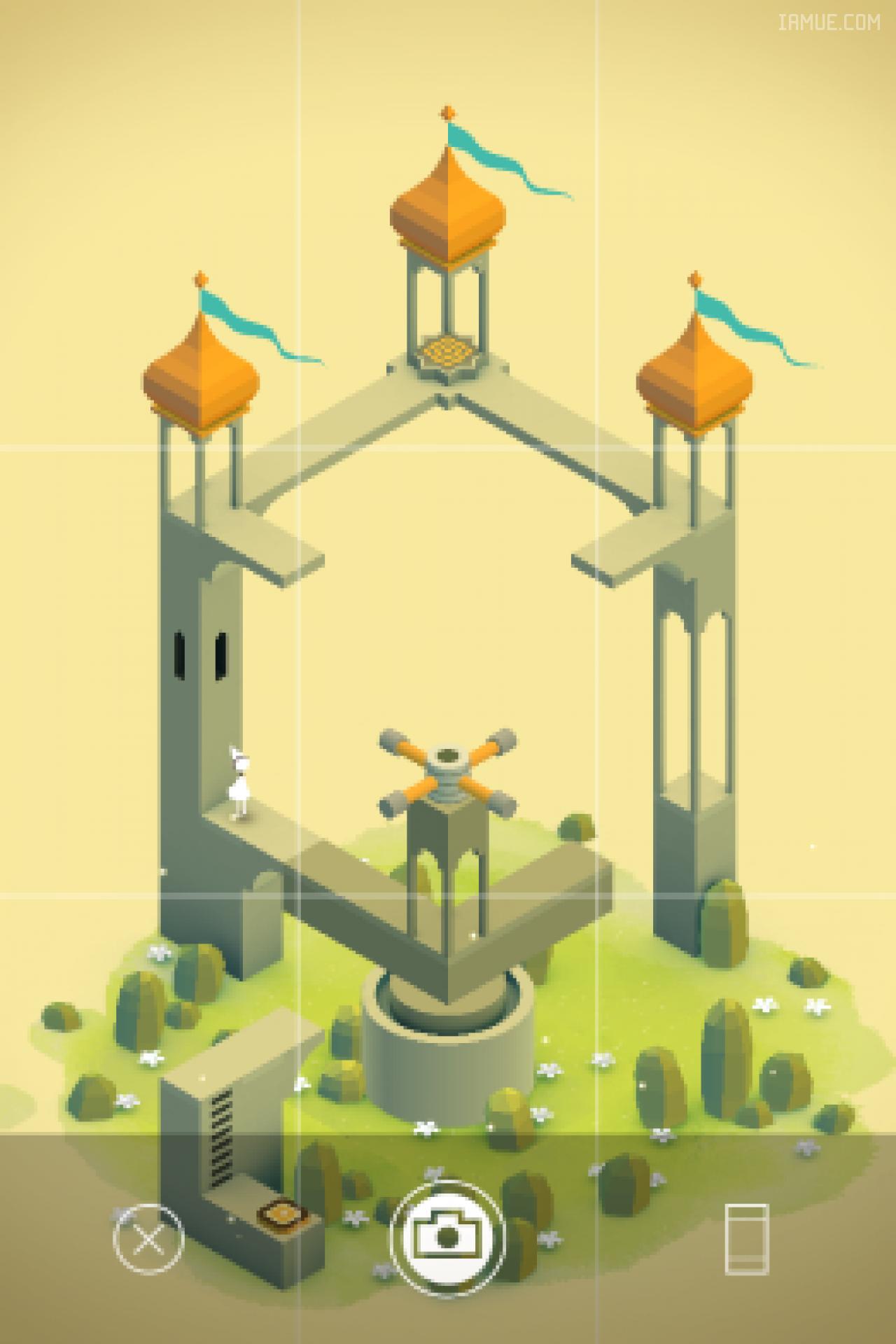手游《纪念碑谷》交互设计特点分析