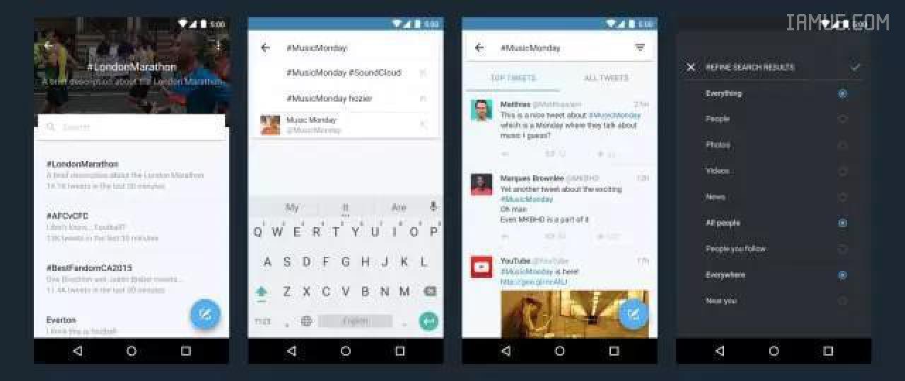 【涨姿势】Twitter安卓端体验的全面革新