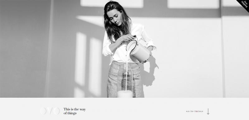 网页设计中的极简风格—无的力量