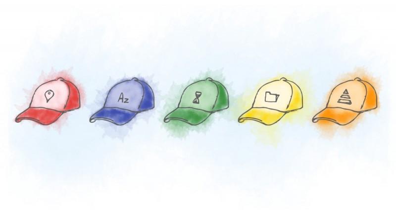 设计原则中的5种信息组织方式