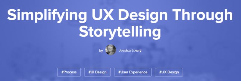 译文 | 如何通过讲故事来简化用户体验设计