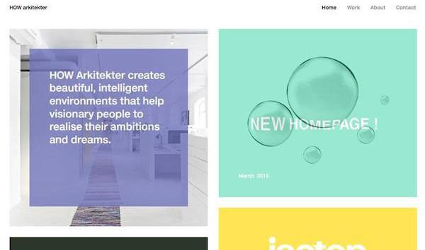 2016年网页设计趋势:卡片式设计如何在占尽优势?