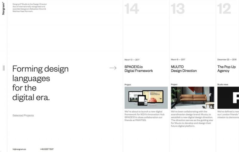 6种实验性的网页导航模式,激发你独特的设计灵感